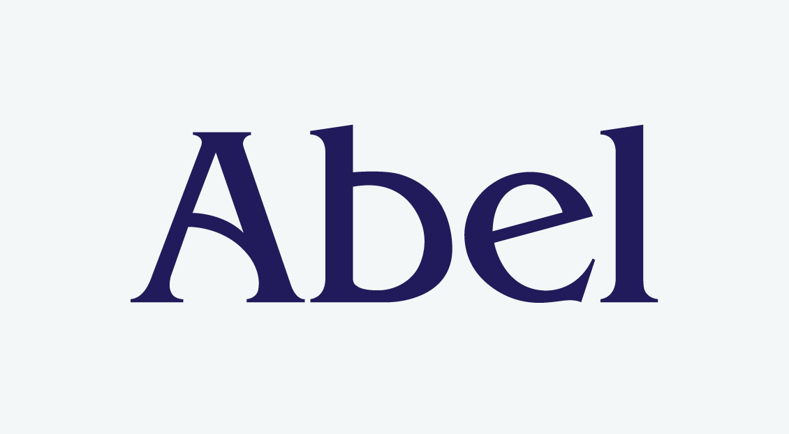 Abel clothing branding and