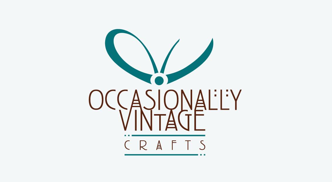 Occasionally Vintage brand identity