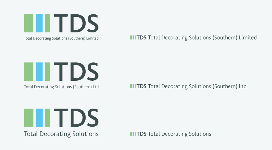 TDS brand identity
