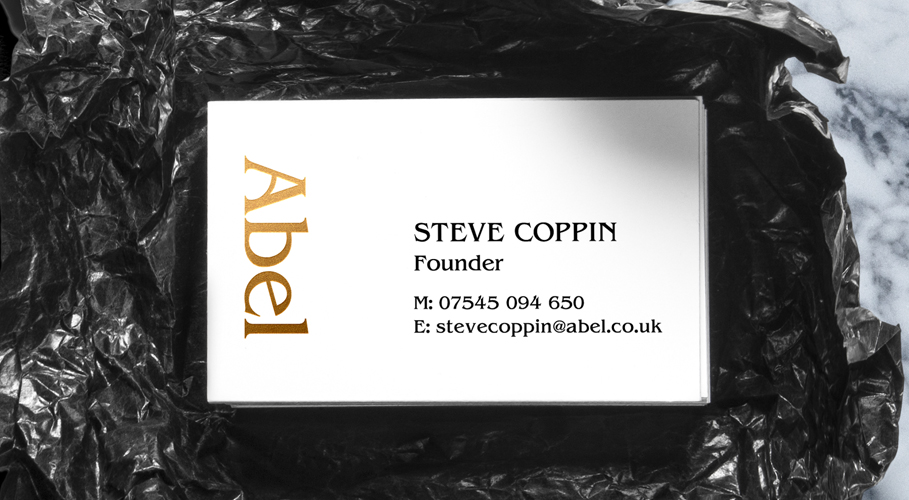 Abel business card