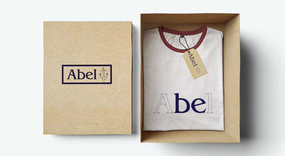 Abel Limited Edition boxed t-shirt with identity