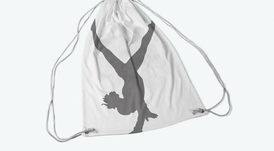 E17 Gymnastics Club kitbag