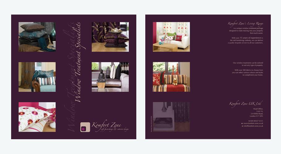 Komfort Zone brochure concept