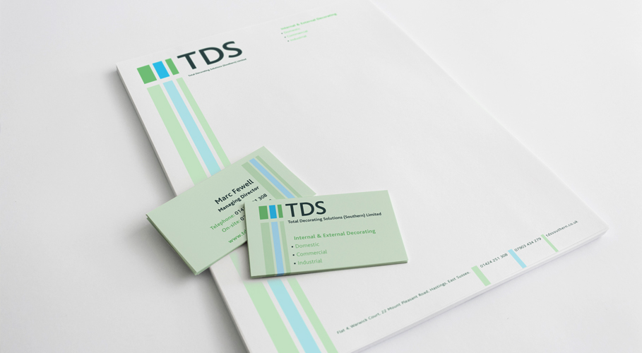 Total Decorating Solutions stationery