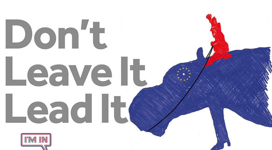 Rejected Remain campaign advert lead it