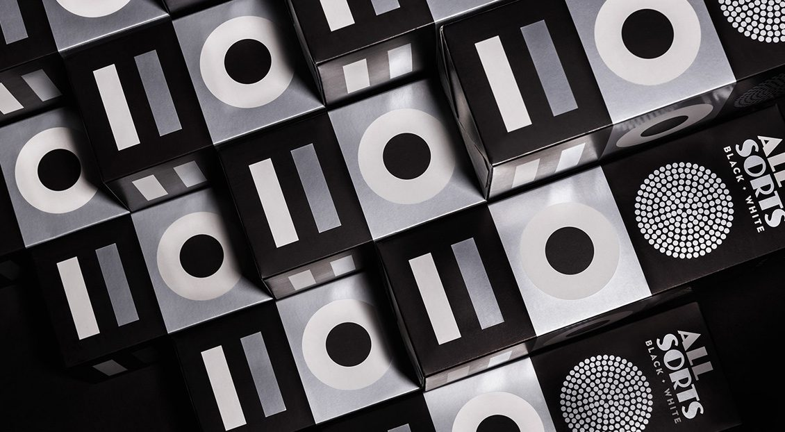 Allsorts Black and White Edition, by Bond