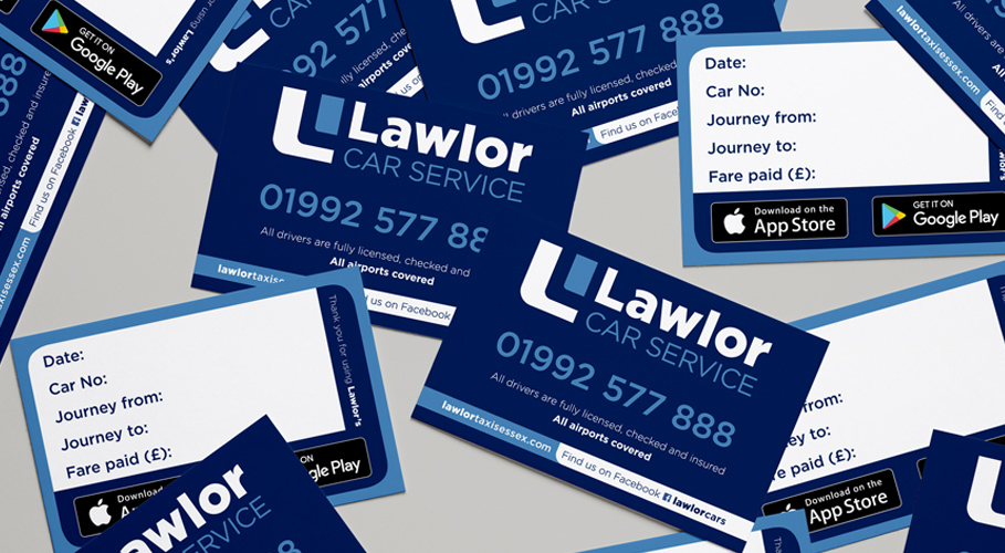 Lawlor Car Service, cards