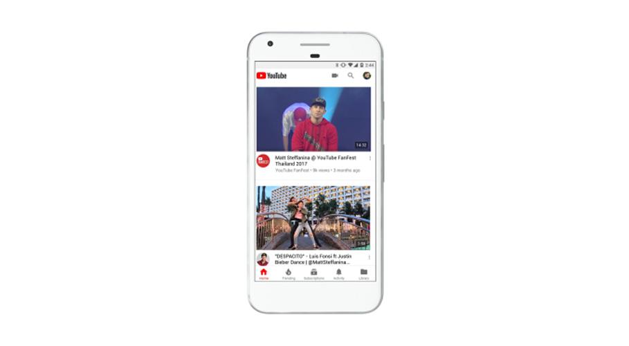 YouTube, mobile