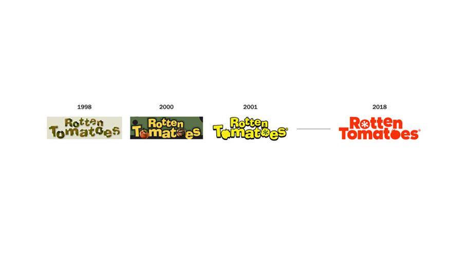 Rotten Tomatoes, previous logos