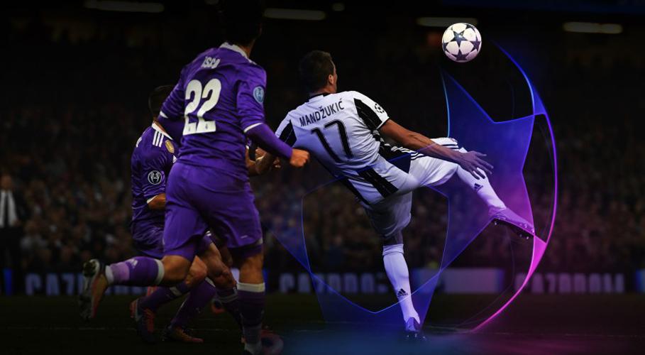 UEFA Champions League reveals new illuminated look