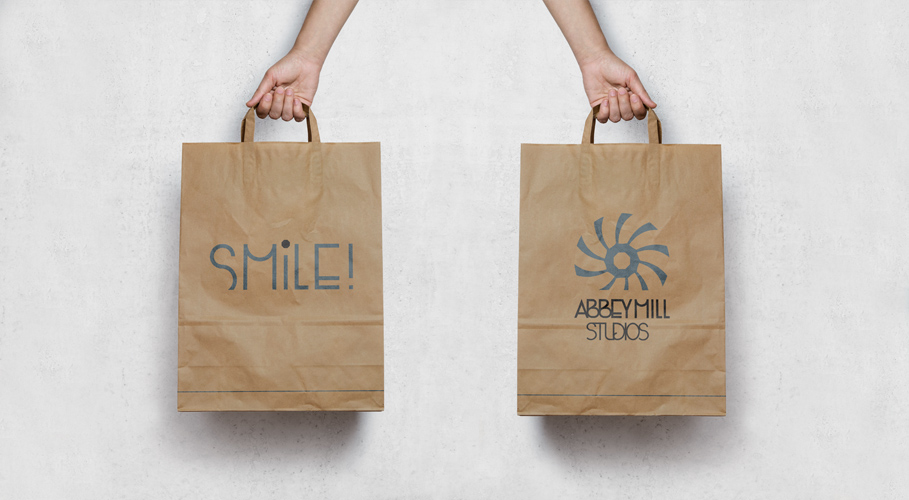 Abbey Mill Studios, branded bag