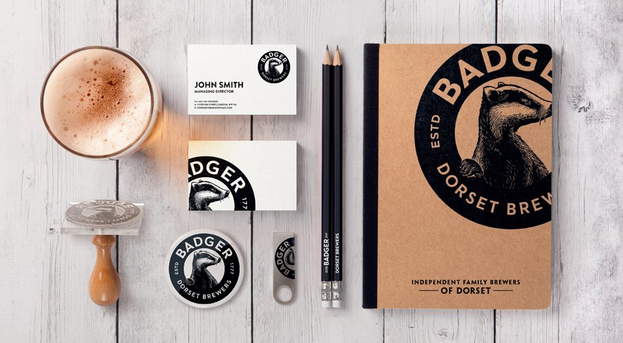 Badger, branded