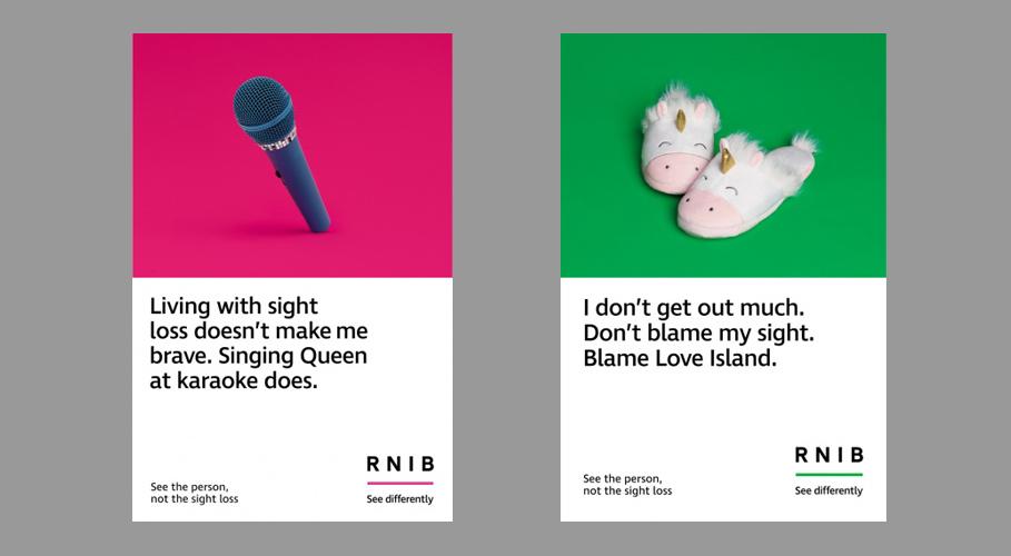RNIB, posters