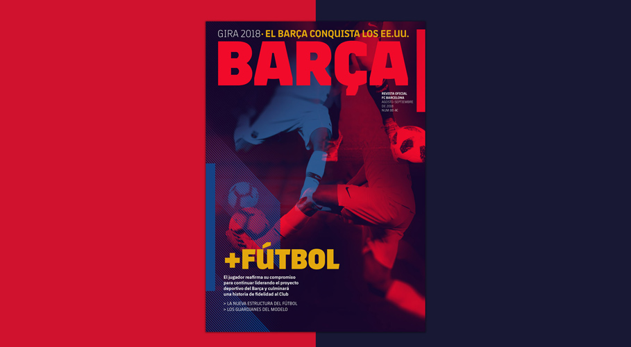 Barcelona FC, magazine