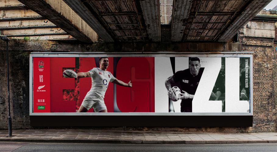 England Rugby, billboard