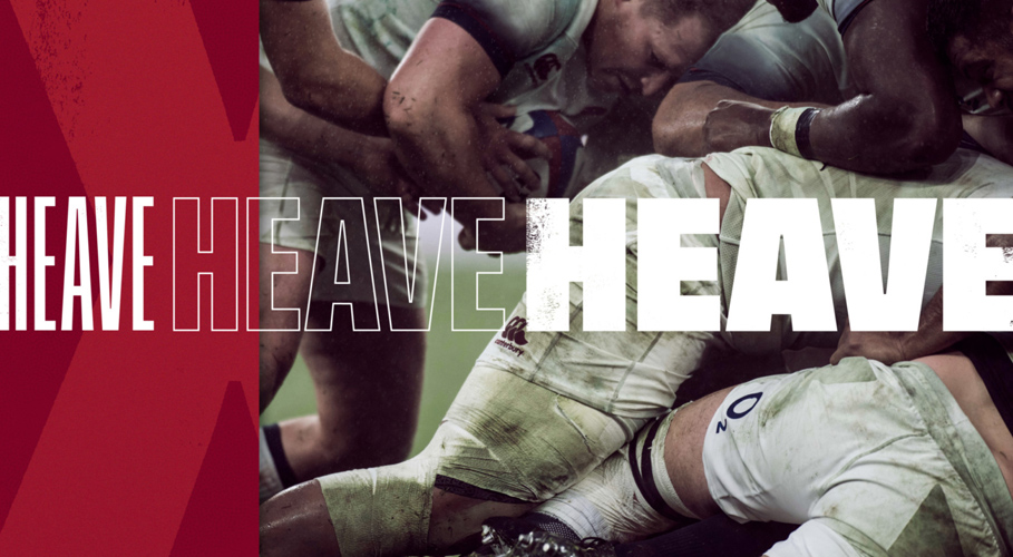 England Rugby, heave