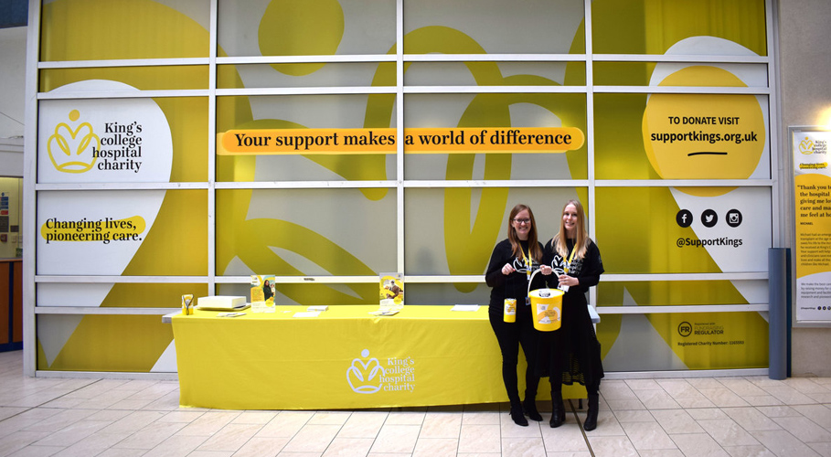 King's College Hospital Charity, decals