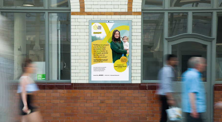 King's College Hospital Charity, poster