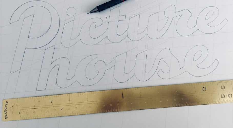 Picturehouse, lettering