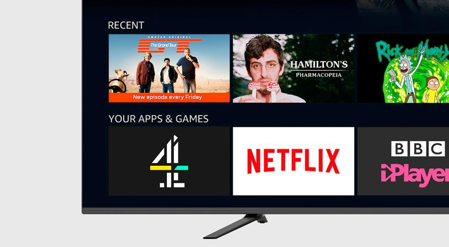 All 4, smart tv