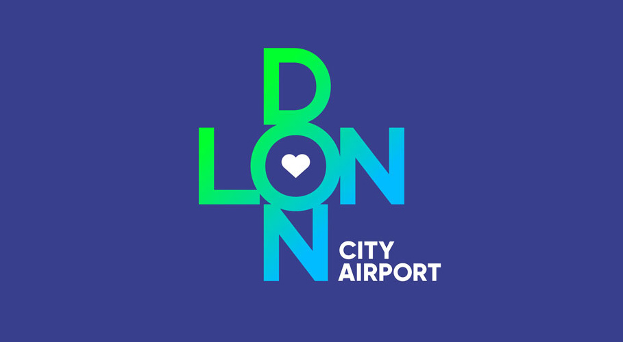 London City Airport, logo