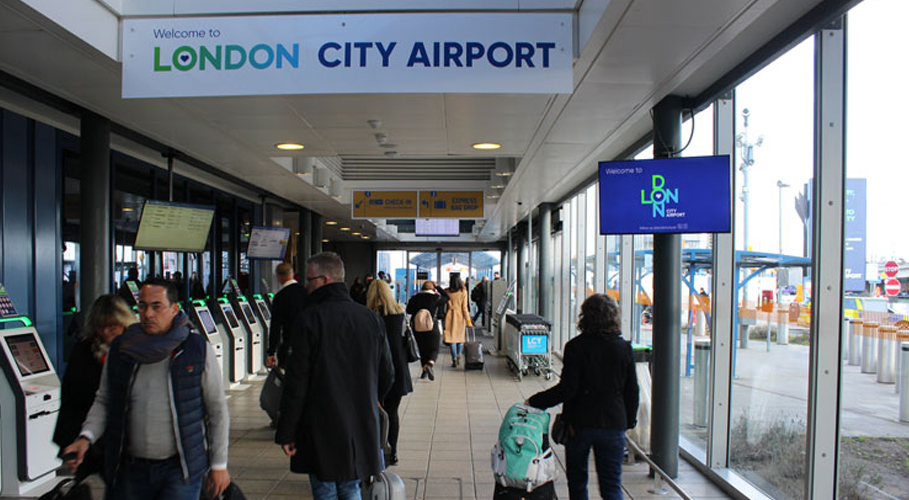 London City Airport, terminal