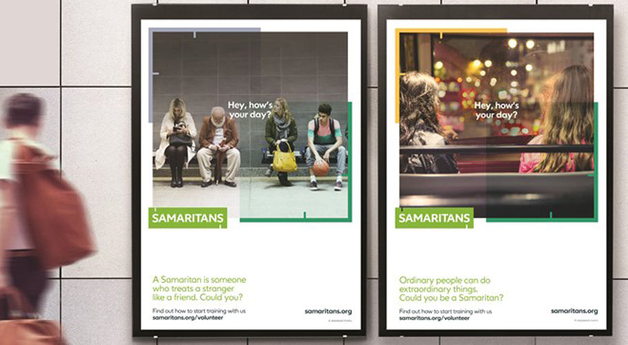 Samaritans, posters