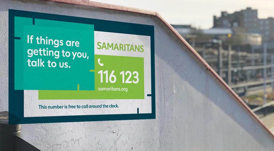 Samaritans, wall